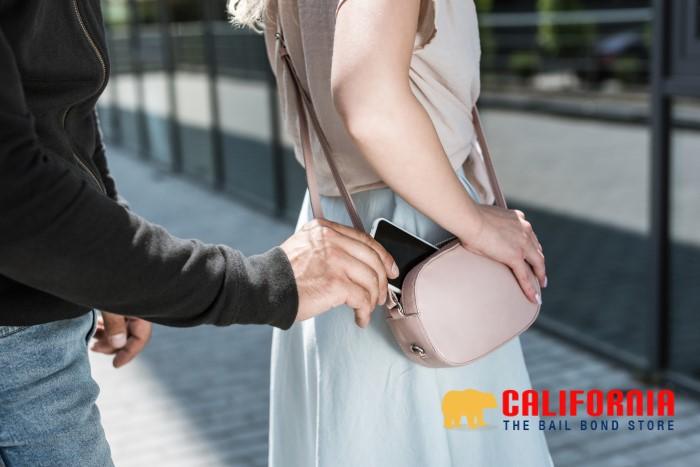 Pickpocketing in California
